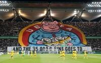 Nenažraná UEFA. Fanúšikovia Legie Varšava si opäť robia srandu zo skorumpovanej futbalovej organizácie
