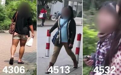 """Neodpustitelně ošklivá. Umělec tajně natočil 5 000 žen a hodnotil jejich vzhled, čínská galerie jeho """"dílo"""" po kritice stáhla"""
