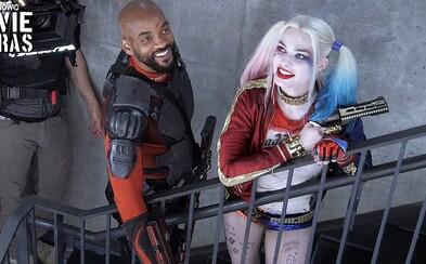 Nepodařené záběry ze Suicide Squad jsou plné nadávajícího Willa Smithe a skvělých hlášek