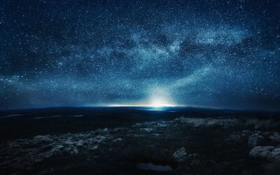 Neskutočná nočná obloha vo Fínsku
