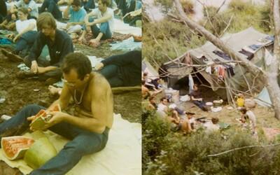 Nespoutaná vášeň, drogy a hudba. Legendární Woodstock připomínají nově zveřejněné momentky