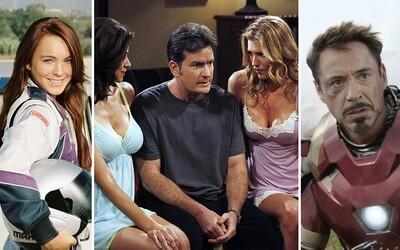 Nespútaný sex, drogy a závislosti, ktoré poslali obľúbených hercov do väzenia, na odvykačku či na druhý svet