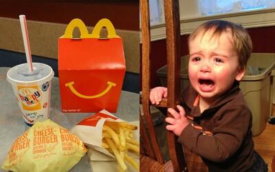 Nešťastný otec zažaloval McDonald's, lebo deti od neho neustále žiadajú Happy Meals