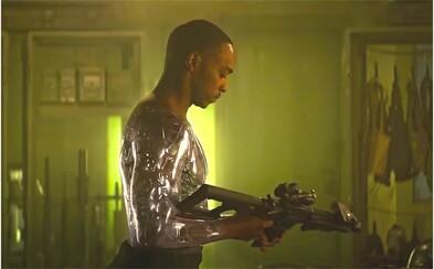 Netflix a ich pokus o vlastnú verziu Ja, robot. Anthony Mackie sa v akčnom filme hrá na Willa Smitha