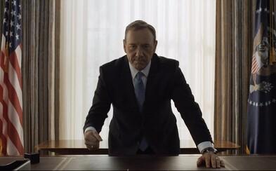 Netflix nám prinesie aj 5. sériu House of Cards! Stane sa z Franka Underwooda najsilnejší americký prezident?