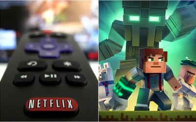 Netflix onedlho začne so streamovaním hier. Pomocou ovládača od televízora si budeš môcť zahrať Minecraft