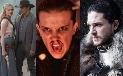 Netflix prvýkrát v histórii prekonal v nomináciách na Emmy HBO. Šancu bodovať majú Game of Thrones, Stranger Things či Westworld