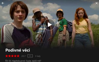 Netflix v češtině je za rohem. Doplněny budou i tuzemské filmy