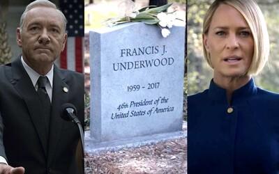 Netflix zabil Kevina Spaceyho. Frank Underwood je prostě mrtvý a House of Cards šestou sérií končí