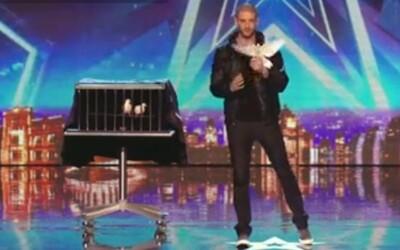 Netradične dobrý iluzionista vystúpil v talentovej šou