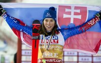 Neuveriteľná Petra Vlhová vyhrala obrovský slalom na Európskom pohári!