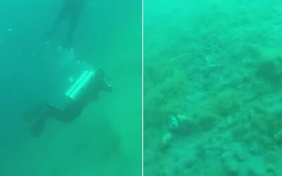Neuvěřitelné momenty, kdy potápěči zažili silné podmořské zemětřesení. V Ohnivém kruhu se třáslo mořské dno a měnil se i tlak