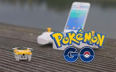 Nevieš sa dostať k Pokémonom nad vodou či na diaľnici? Pokédron sa na ťažko dostupné miesta dopraví za teba
