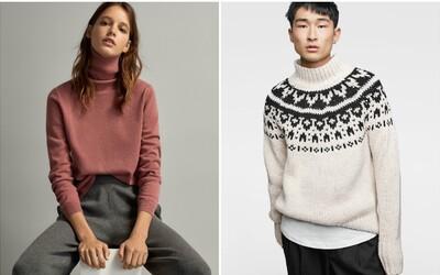 Nevíš, co si obléci pod zimní bundu či kabát? Vybrali jsme nejlepší kousky za skvělé ceny