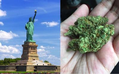 New York dekriminalizoval marihuanu, blíži sa k legalizácii
