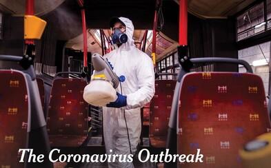New York Times zdieľa fotku dezinfikovania bratislavskej MHD. Informuje tým, že koronavírus je už pandémia