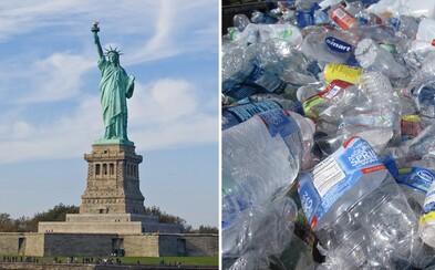 New York zakazuje prodej plastových lahví. Dotkne se i Donalda Trumpa