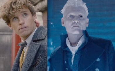 Newt a Brumbál spojují síly proti Grindelwaldovi v traileru k pokračování Fantastických zvířat