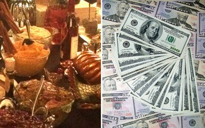 Newyorská restaurace nabízí večeři za závratných 50 tisíc dolarů. Den díkůvzdání můžeš v Americe oslavit i kaviárem za tisíce