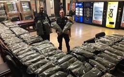 Newyorskí policajti sa chválili s veľkým drogovým úlovkom. Išlo však o legálne konope, nie marihuanu