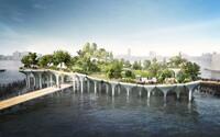 Newyorský Central Park má vážnou konkurenci. Nová oáza klidu na vodní hladině se začne budovat již toto léto