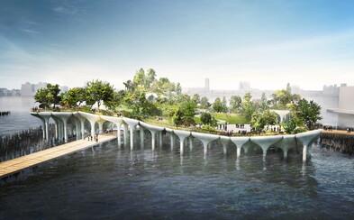 Newyorský Central Park má vážnu konkurenciu. Nová oáza pokoja na vodnej hladine sa začne budovať už toto leto