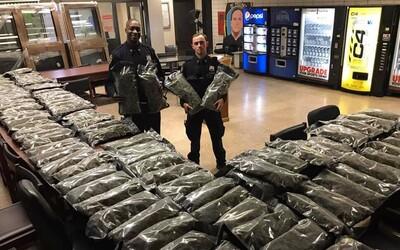 Newyorští policisté se chlubili s velkým drogovým úlovkem. Šlo ale o legální konopí, ne o marihuanu