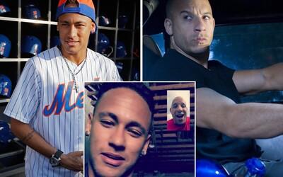 Neymar bude hrať s Vinom Dieselom v akčnom pokračovaní slávnej xXx série!
