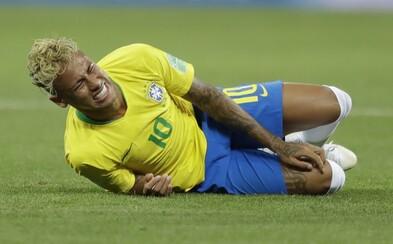 Neymar ľutuje svoje simulovanie na MS. Vraj je z neho nový muž, ktorý už v súbojoch ustojí aj tvrdšie zákroky