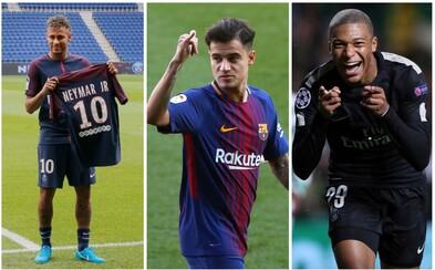 Neymar, Pogba či Alisson. Najdrahšia futbalová jedenástka histórie má hodnotu viac ako miliardu eur