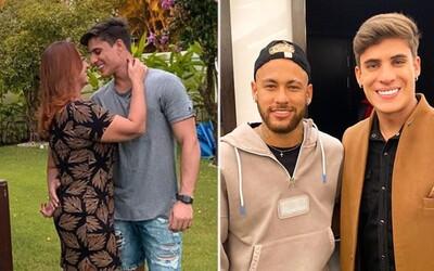 Neymarova mama si našla 22-ročného frajera. Zajačik je mladší ako samotný futbalista