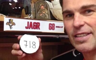 Nezastaviteľný Jágr vstupuje do päťky najlepších strelcov histórie NHL!