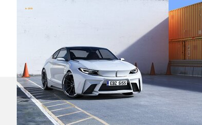 Nezávislý grafik a študent dizajnu naznačuje, ako bude vyzerať športové BMW v dobe elektromobilov