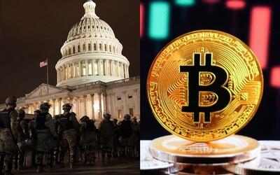 Neznámy darca poslal bitcoiny v hodnote viac ako pol milióna dolárov útočníkom na washingtonský Kapitol