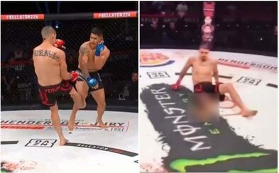MMA bojovník si v zápase jedným kopom zlomil holennú aj lýtkovú kosť