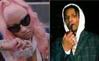 Nicki Minaj jde tvrději než A$AP Rocky. V koruně si nadále vychutnává jointa a nerespektuje dresscode