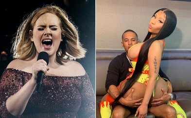 Nicki Minaj si vymyslela příběh o tom, že má klip s Adele. Své fanoušky oklamala, jeden na ni chtěl zavolat policii