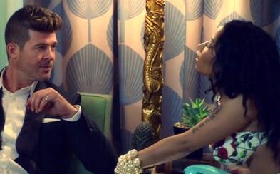 Nicki Minaj twerkuje v pohodovom letnom klipe Robina Thickeho, ktorý vás zaručene dostane do pohybu
