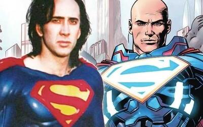 Nicolas Cage by si rád zahral kultového záporáka Lexa Luthora v DC univerze