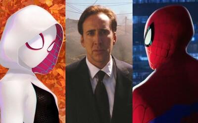 Nicolas Cage nadabuje ďalšieho Spider-Mana v skvelo vyzerajúcom animáku o Paralelných svetoch. Koľko pavúčich hrdinov v ňom vlastne uvidíme?