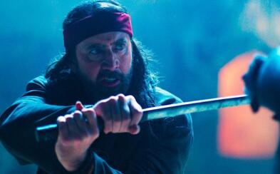 Nicolas Cage se učí létat a bít stylem jiu jitsu. Bizarní akční film slibuje ulítlou zábavu