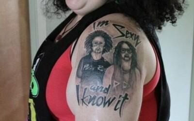 Niekoľko naozaj odvážnych tetovaní