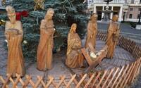 Niekto z bratislavského betlehemu ukradol sochu malého Ježiška. Hrozí mu väzenie na 10 až 15 rokov