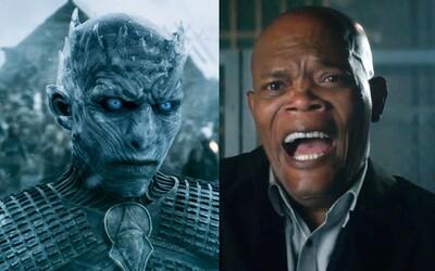 Night King chce v 8. sérii Game of Thrones zabít někoho konkrétního a Samuel L. Jackson vtipně rekapituluje příběh