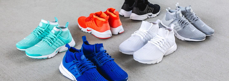 Nike Air Presto prošly evolucí s Flyknitem a takto vypadají jedny z prvních barevných kombinací