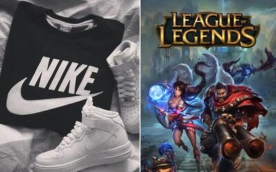 Nike bude poprvé v historii vyrábět dresy pro ligu League of Legends. Do e-sports vstupuje ve velkém stylu