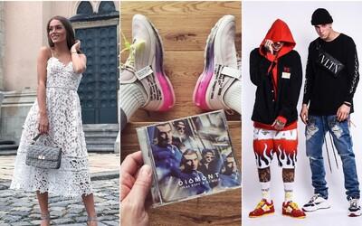 Nike s Off-White nebo tenisky od Diora. Jaké boty zvolili čeští influenceři během podzimu?