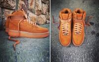 Nike se stále veze na vlně gum podrážek i s nejnovějšími AF1 Hi Tawny