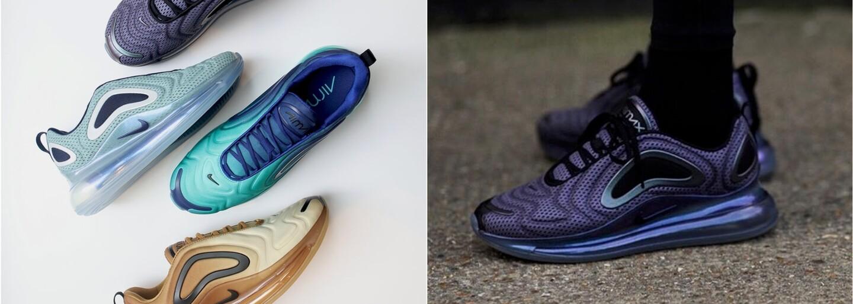 Nike už zanedlouho spustí prodej očekávaných Air Max 720. Futuristický model je inspirován přírodními úkazy