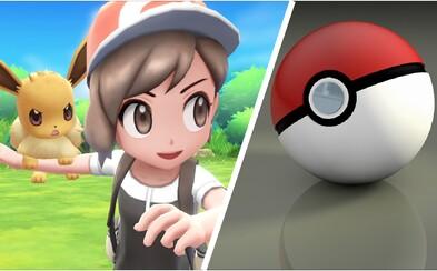 Nintendo Switch dostáva 3 nové Pokémon hry. Sľubujú veľa zábavy, prepojenie s Pokémon Go, ale i veľký RPG titul na jar 2019